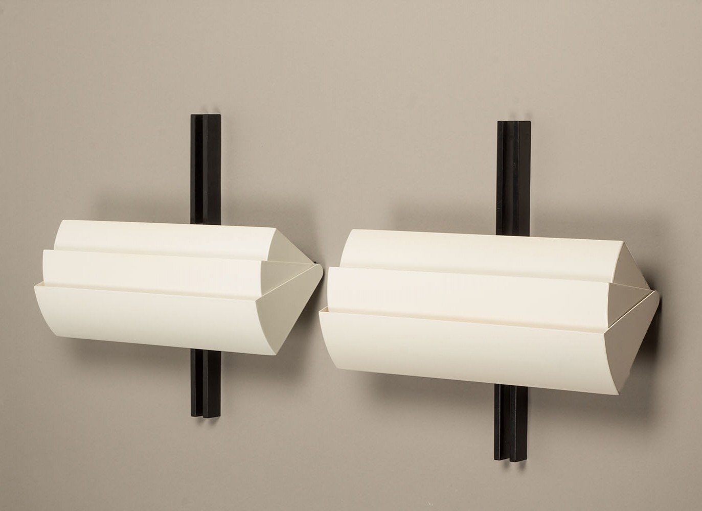 Pair of Stria wall lamps by Ernesto Gismondi for Artemide, 1980s