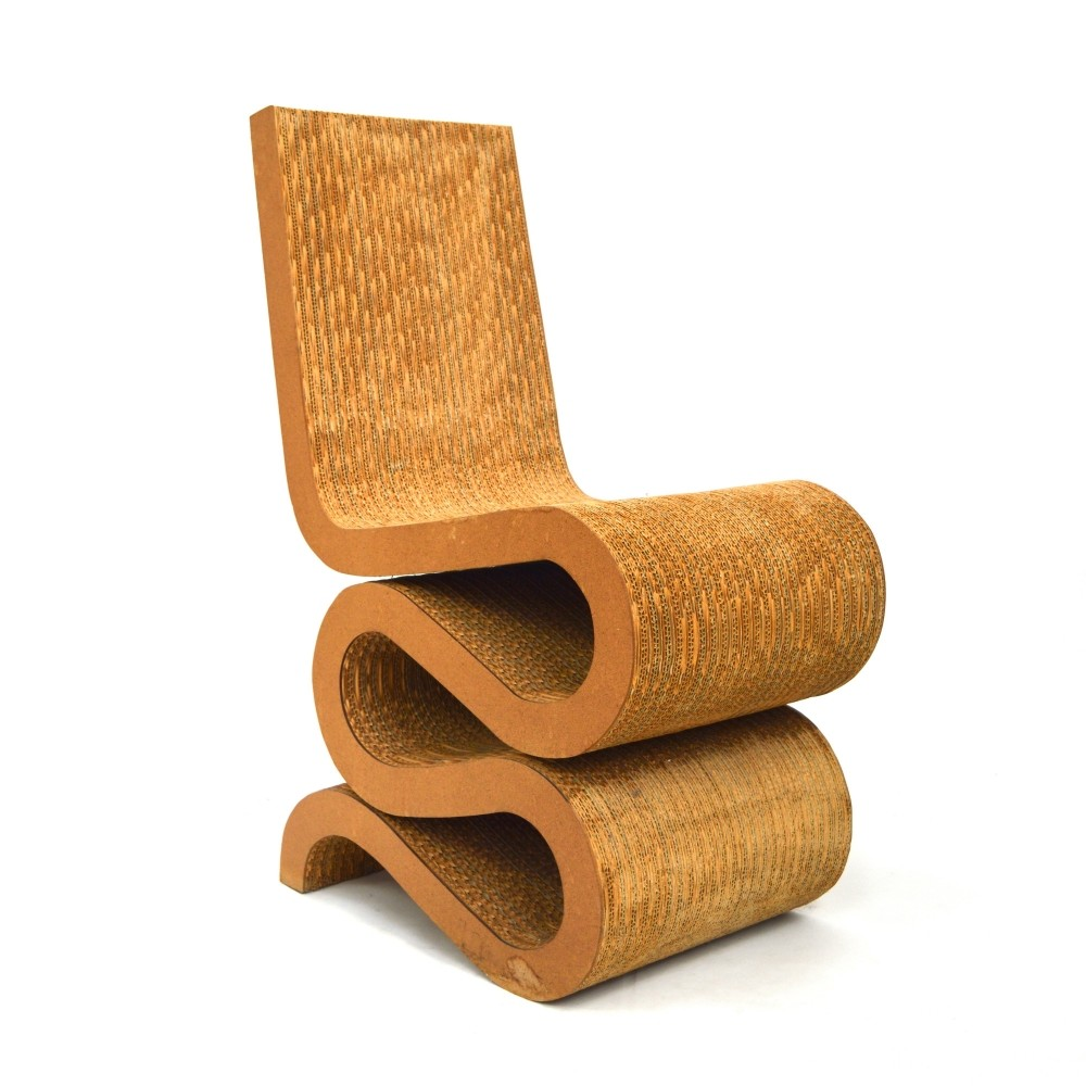 70s chairs is frank o gehry s cardboard chair wiggle side chair - Wiggle Chair By Frank Gehry For Vitra