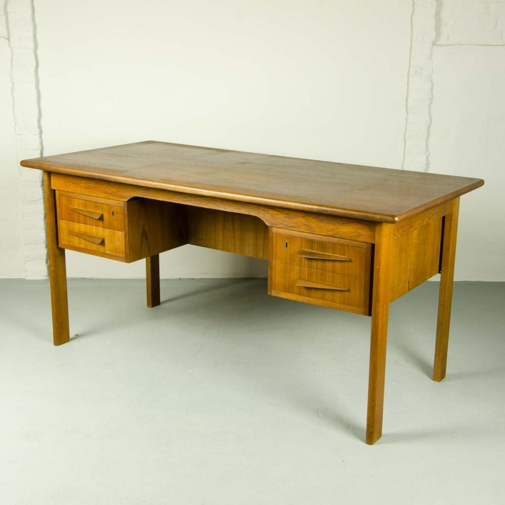 teak writing desk 1960s