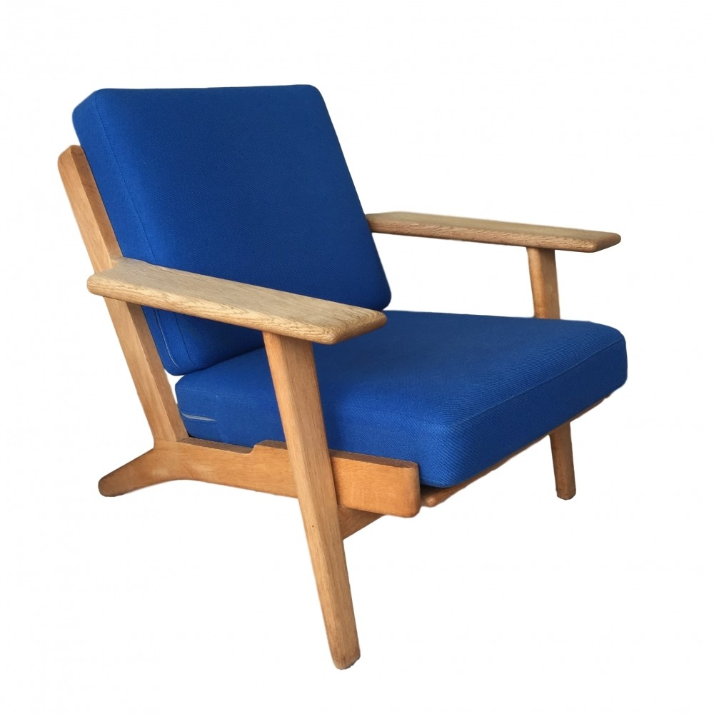 GE 290 Plank Lounge Chair By Hans Wegner For Getama, 1960s