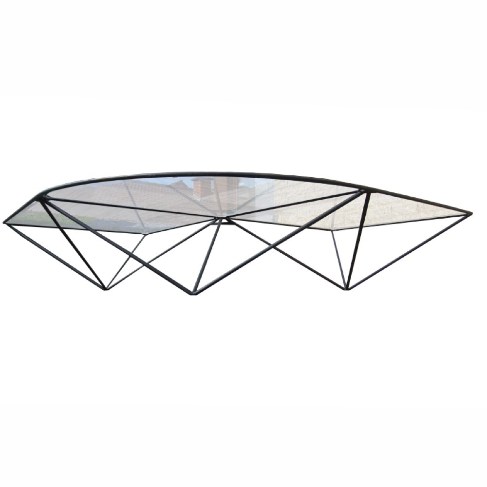 Vintage Metal Wire Frame Coffeetable, 1970s