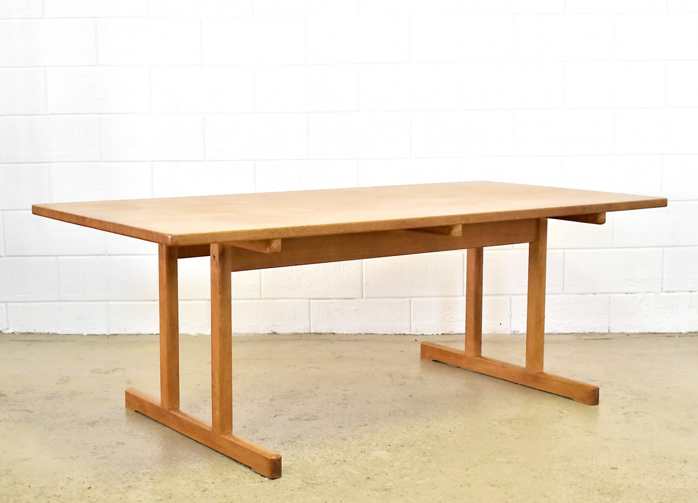 Shaker 6286 dining table by Børge Mogensen for Fredericia, 1970s