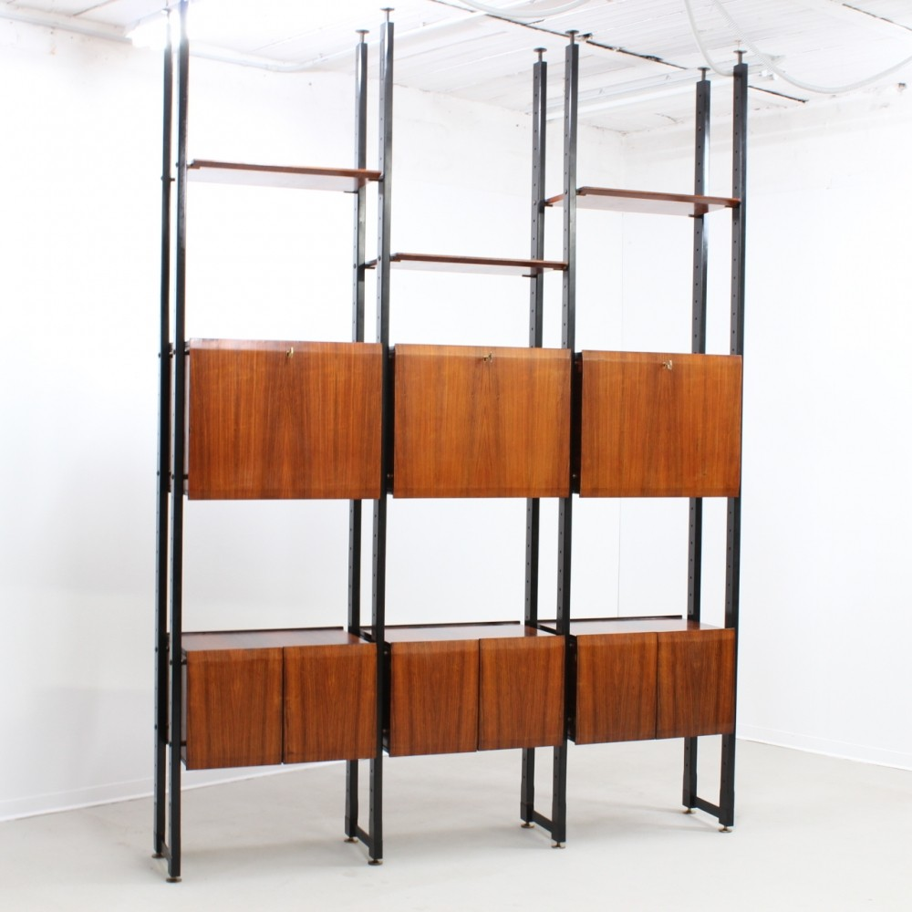 Two-sided wall unit by Frigerio di Desio, 1950s
