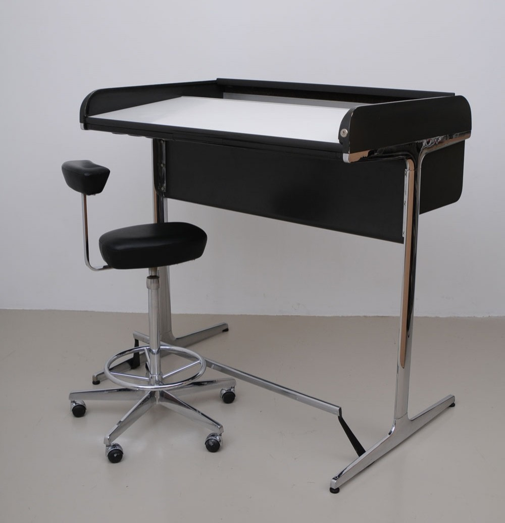 Action Office Writing Desk By George Nelson For Herman Miller 1960s