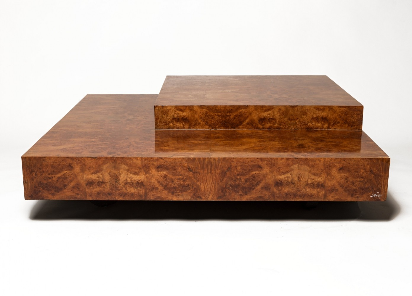 Willy rizzo coffee table 1960s 67668 for Mobili willy rizzo