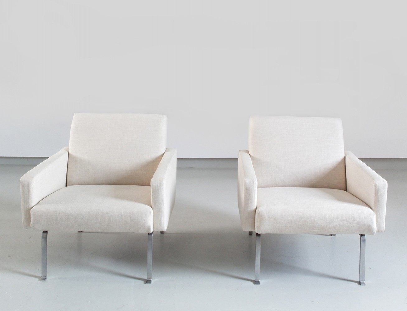 Pair of Geoffrey D Harcourt Lounge Chairs Model 461 for Artifort, The Netherlands 1955