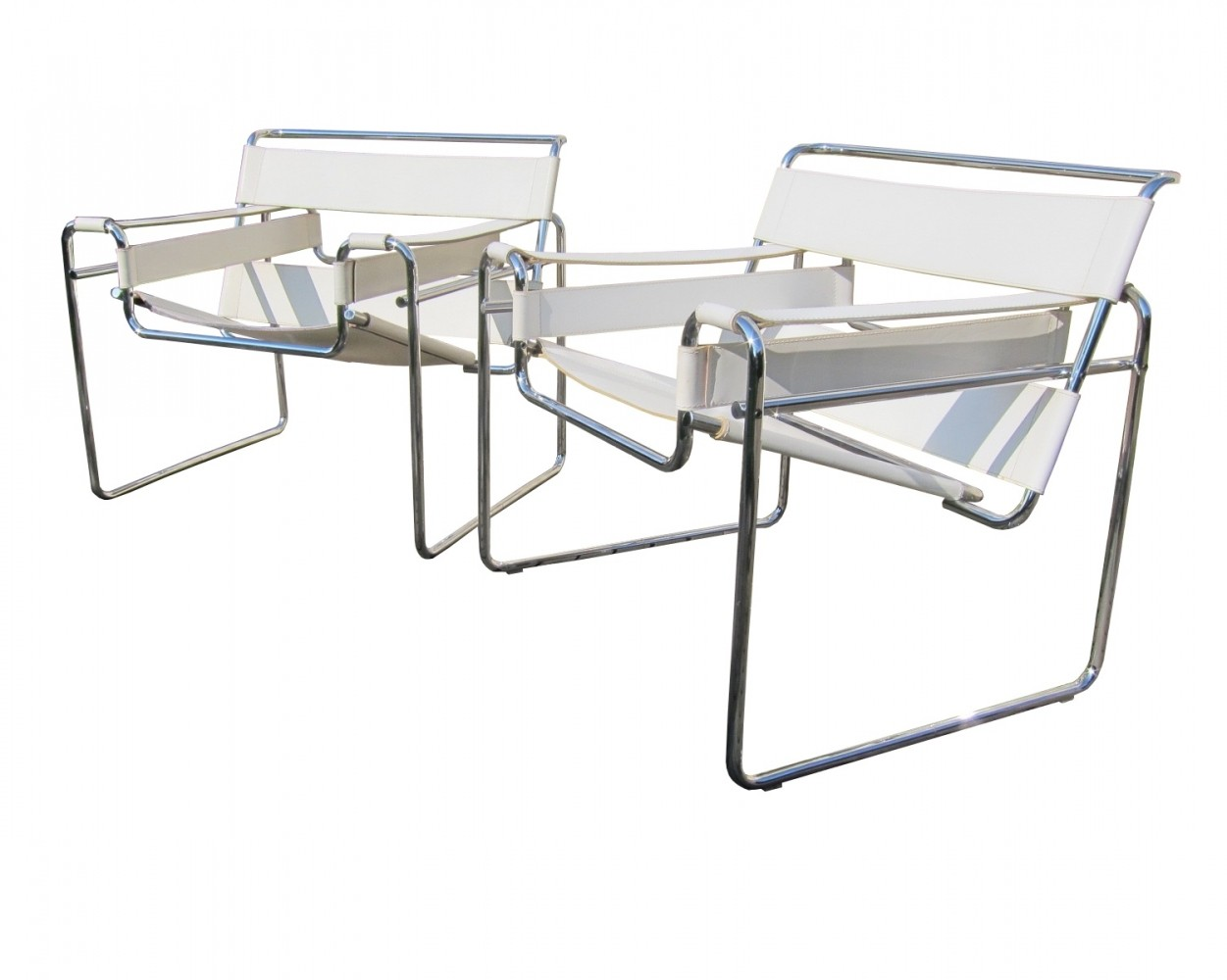 Vintage Bauhaus B3 Wassily Chairs By Marcel Breuer For Gavina 1970s 67843