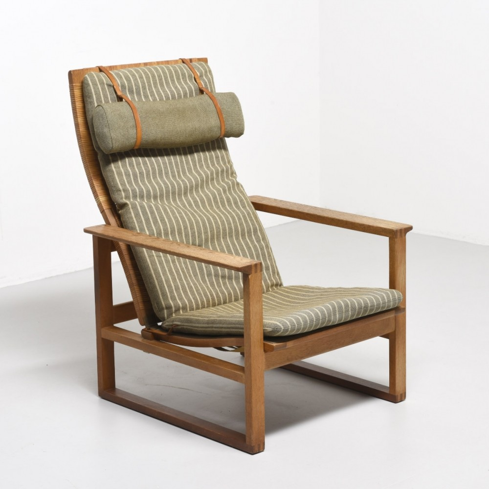 Model 2254 lounge chair by Børge Mogensen for Fredericia, 1950s