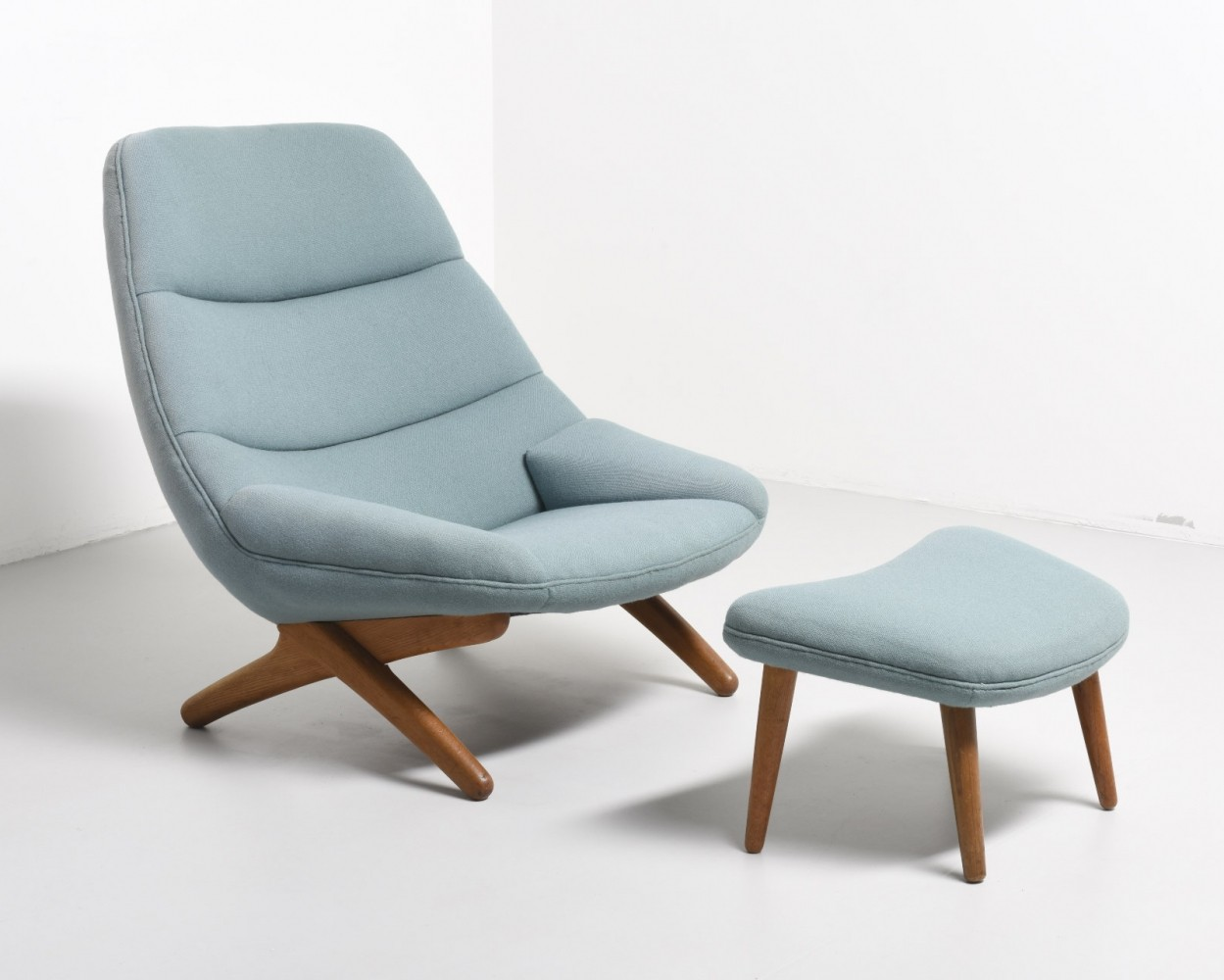ML91 lounge chair by Illum Wikkelsø for A. Mikael Laursen, 1960s