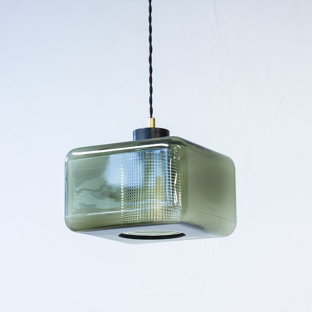 Hanging lamp by Carl Fagerlund for Orrefors, 1960s