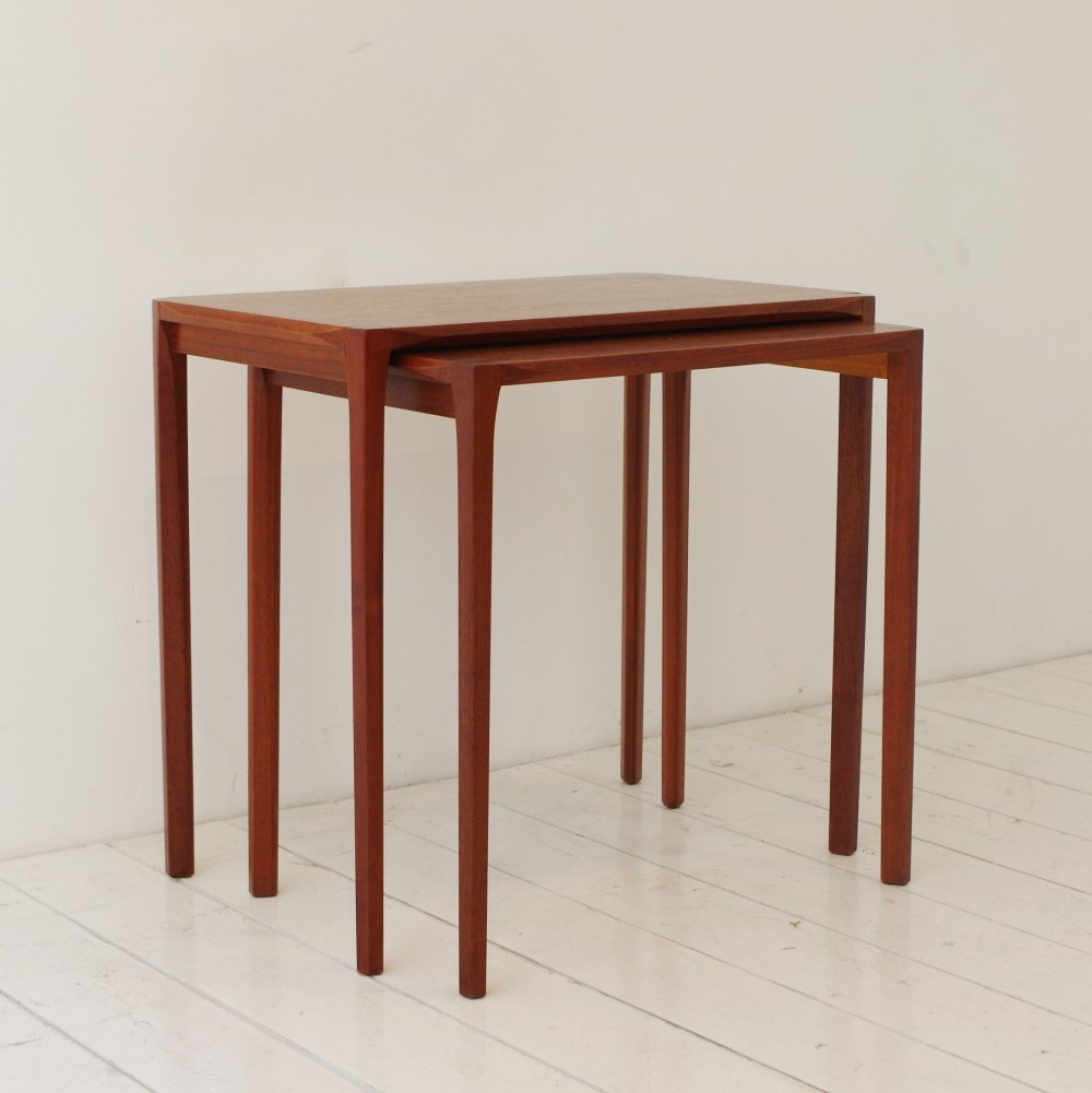 pair of nesting tables by rex raab for wilhelm renz 1950s