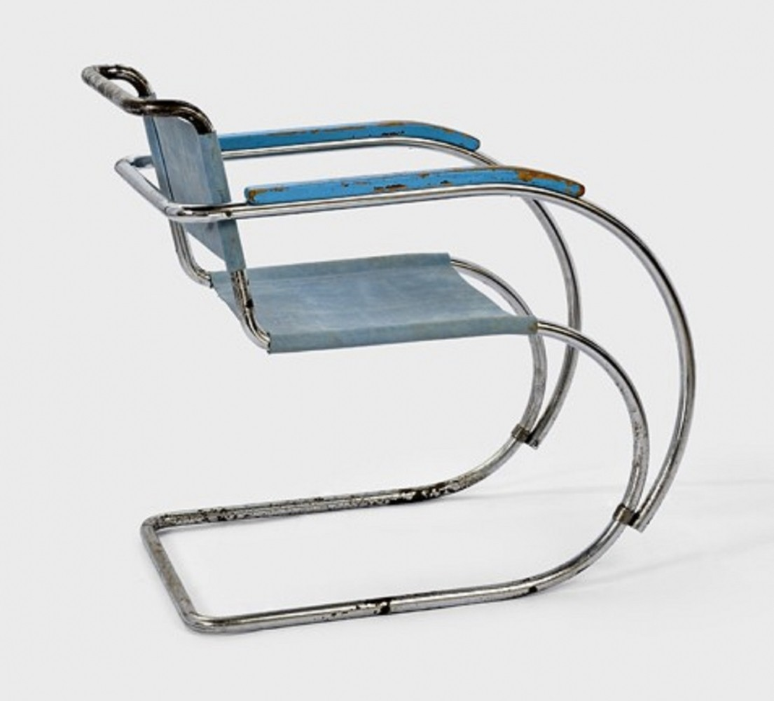 MR 534 / MR 20 arm chair by Ludwig Mies van der Rohe for Mücke Melder, 1930s