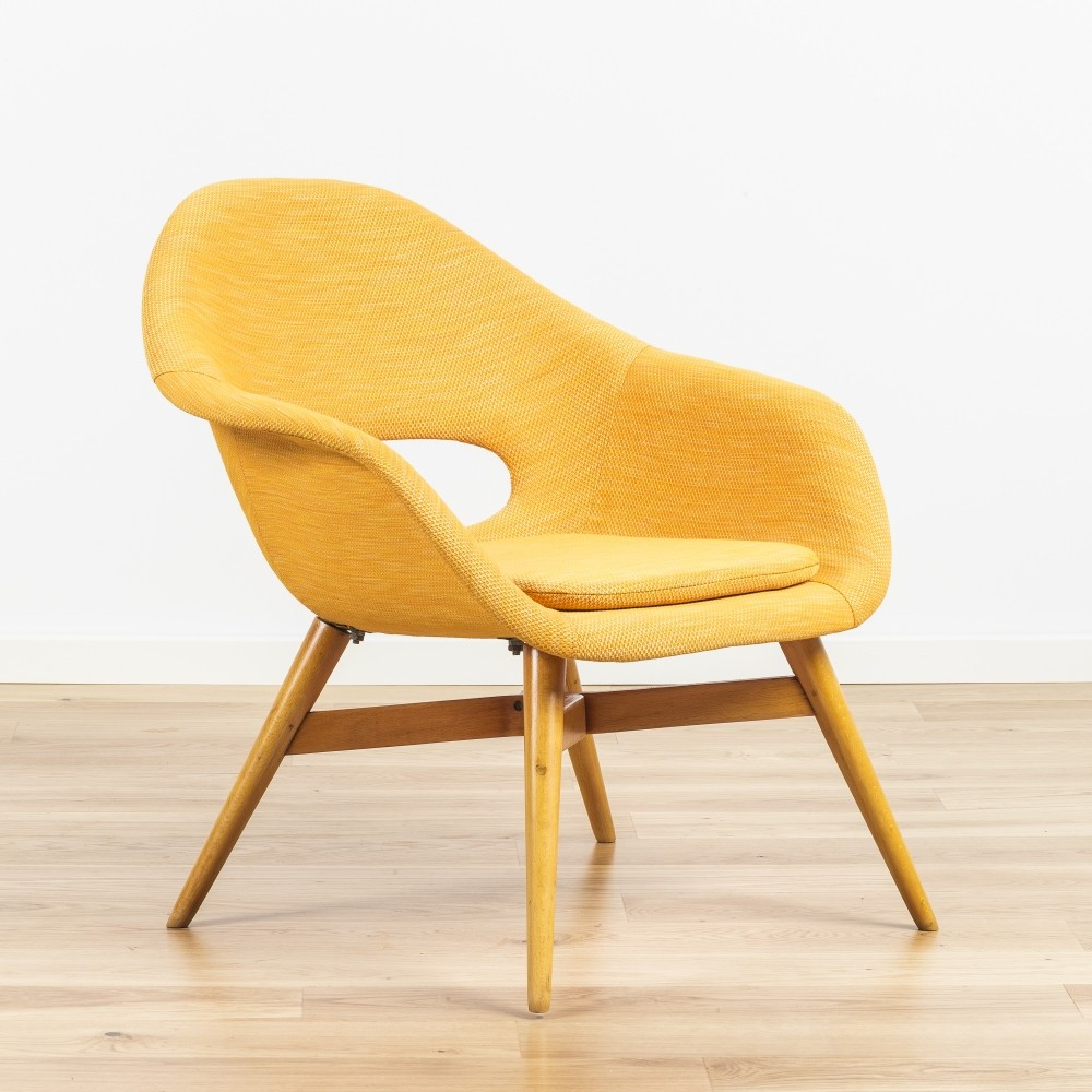 Bucket chair by Miroslav Navratil 1960s