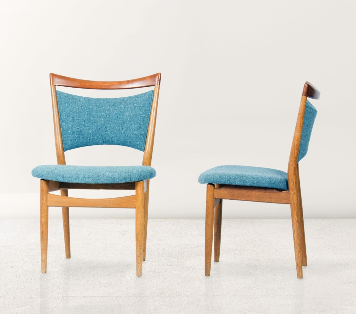 Seating / Dinner Chairs / Pair Of U0027SW87u0027 Chairs By Finn Juhl, 1952