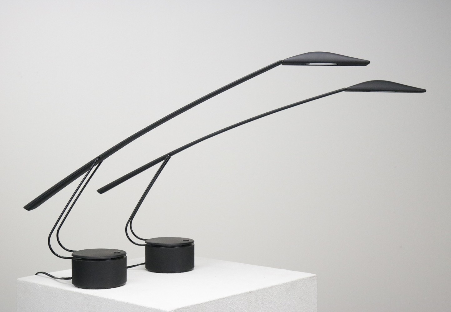 2 x Dove desk lamp by Mario Barbaglia & Marco Colombo for PAF Studios, 1980s