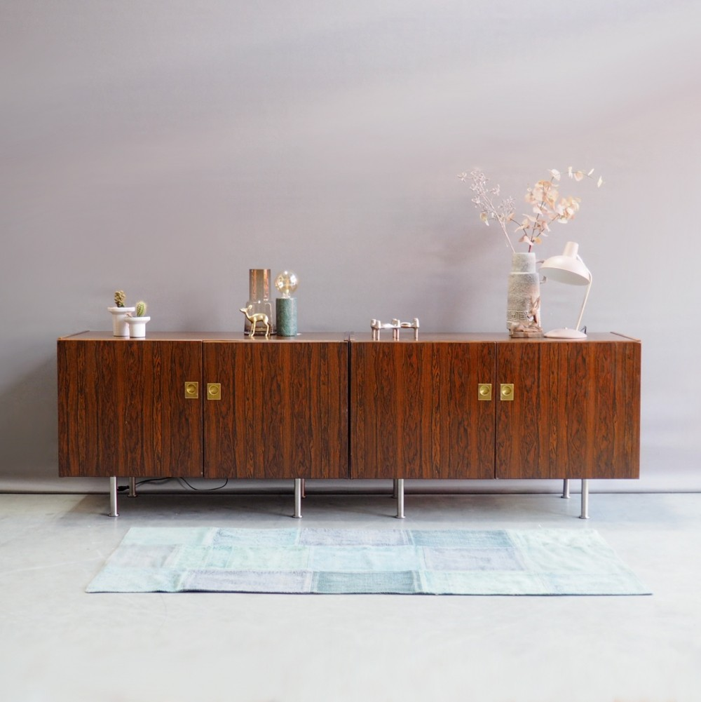 Pair of ÆJM Møbler sideboards, 1960s