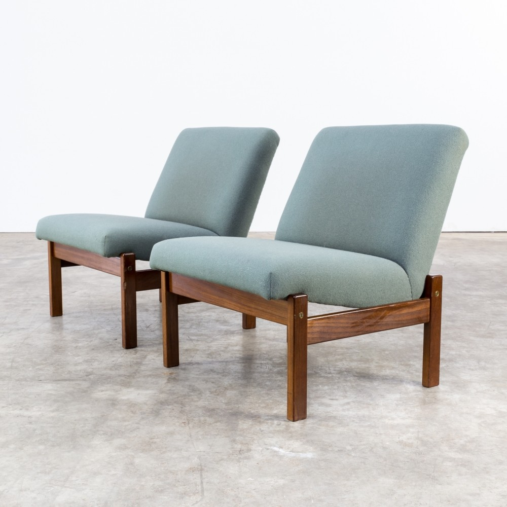 Pair of lounge chairs by Yngve Ekström for Pastoe, 1950s