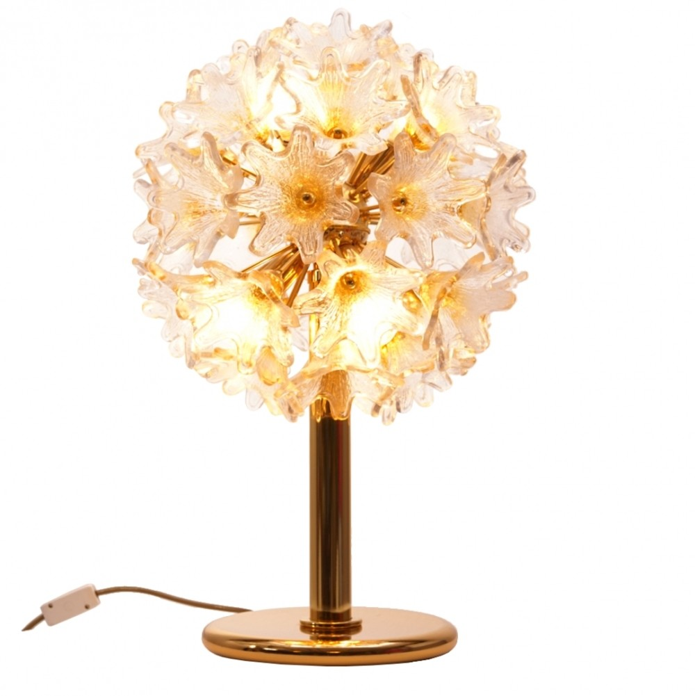Murano Flower Lamp by Paolo Venini for VeArt
