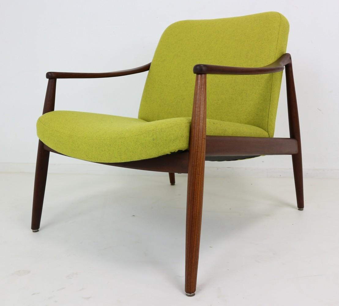 Easy Chair by Hartmut Lohmeyer for Wilkhahn 1956