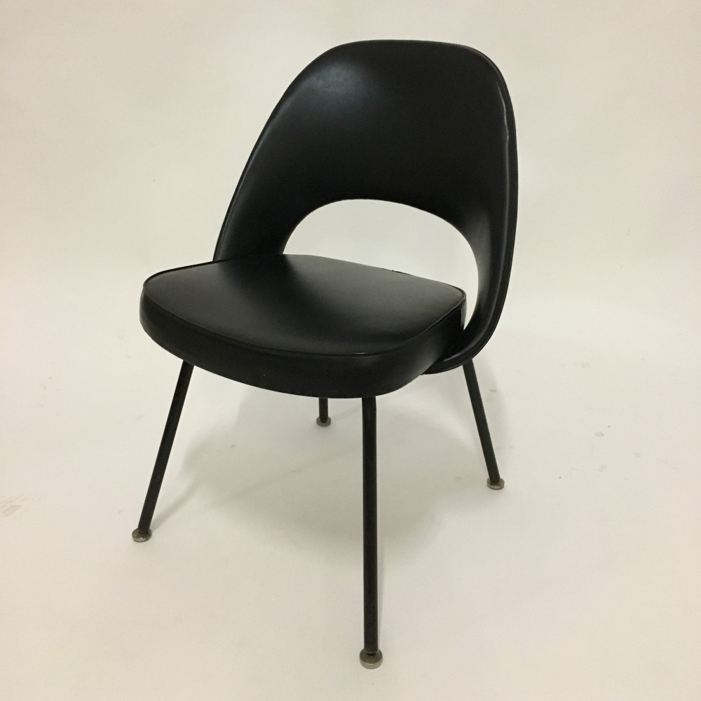 lounge chair by eero saarinen for knoll 1950s 70236. Black Bedroom Furniture Sets. Home Design Ideas