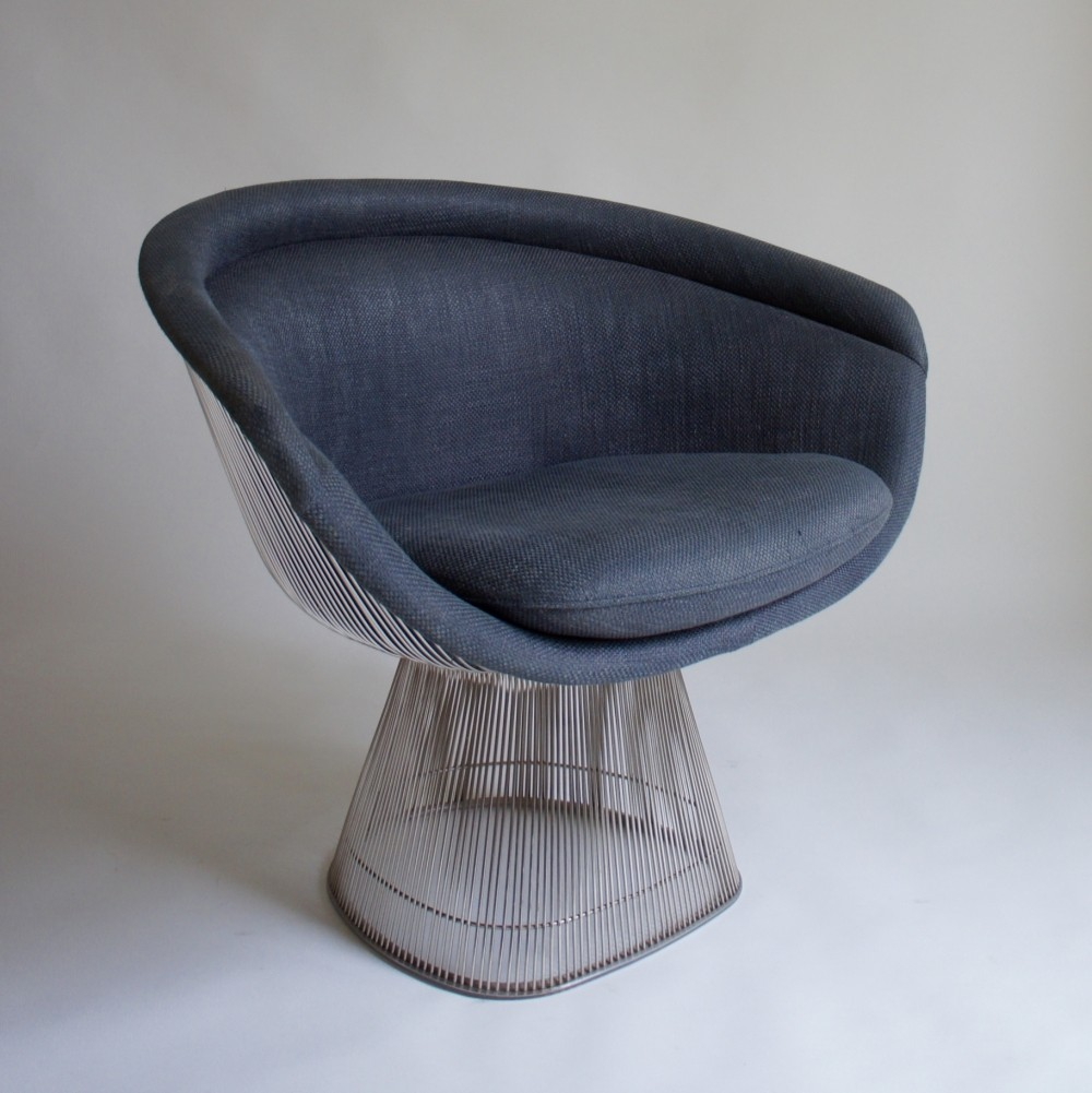lounge chair by warren platner for knoll s   - lounge chair by warren platner for knoll s