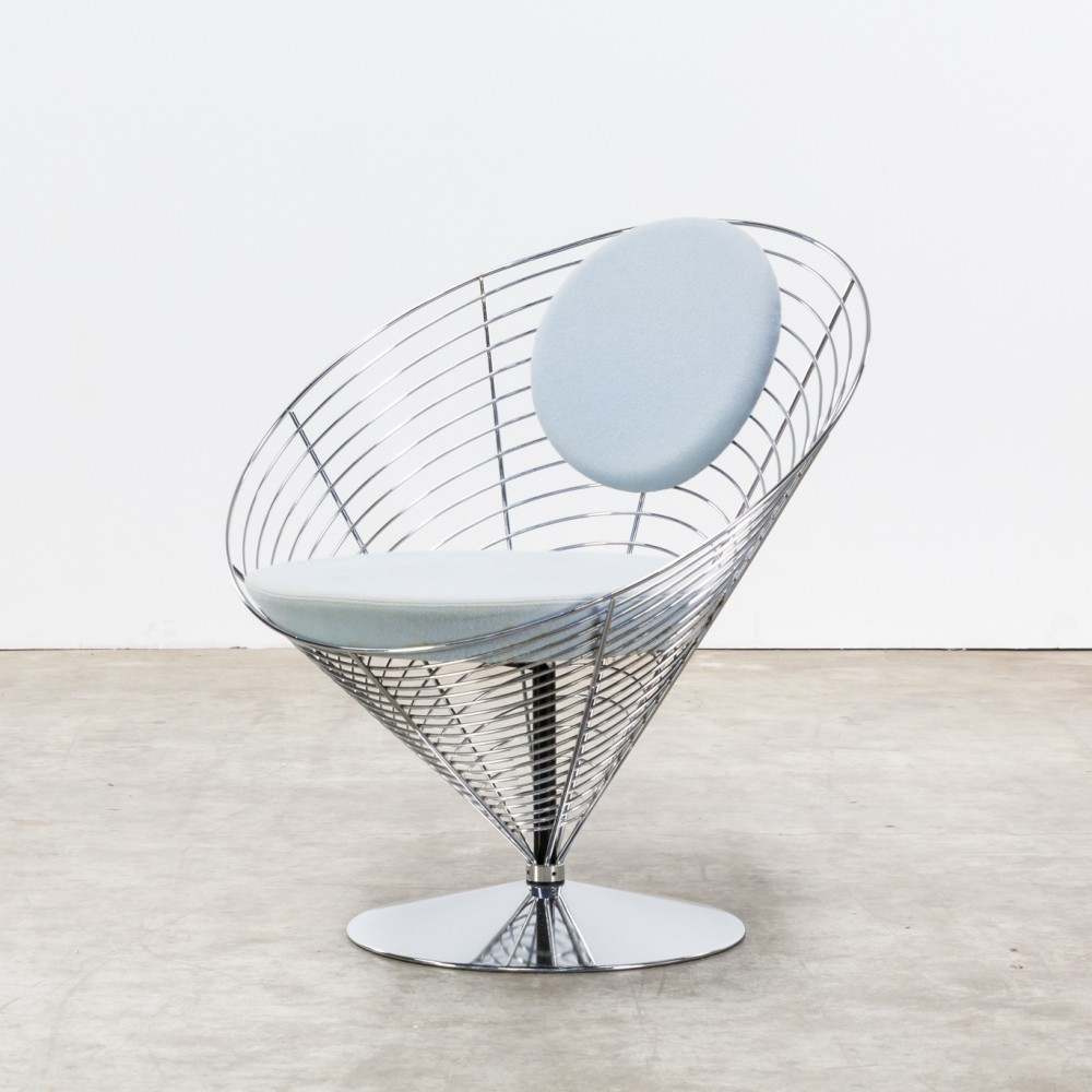 Cone lounge chair by Verner Panton for Fritz Hansen, 1980s