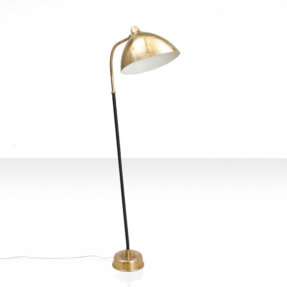 Elegant floor lamp by Lisa Johansson-Pape, Finland, late 1940s