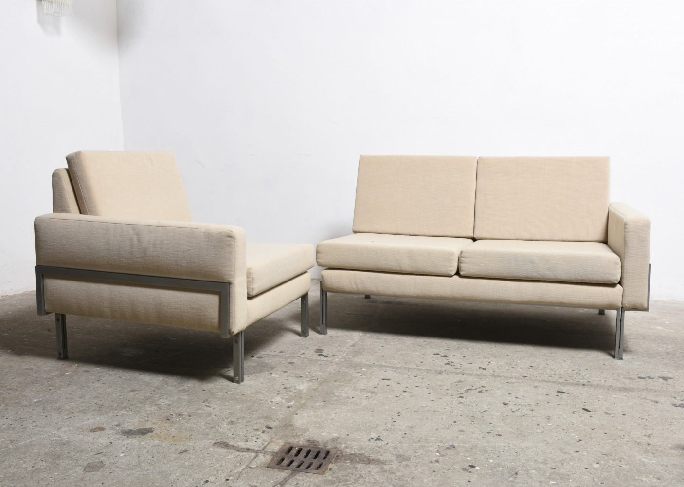 Mid Century Modern Modular Sectional Sofa By Florence Knoll 1960s 71514