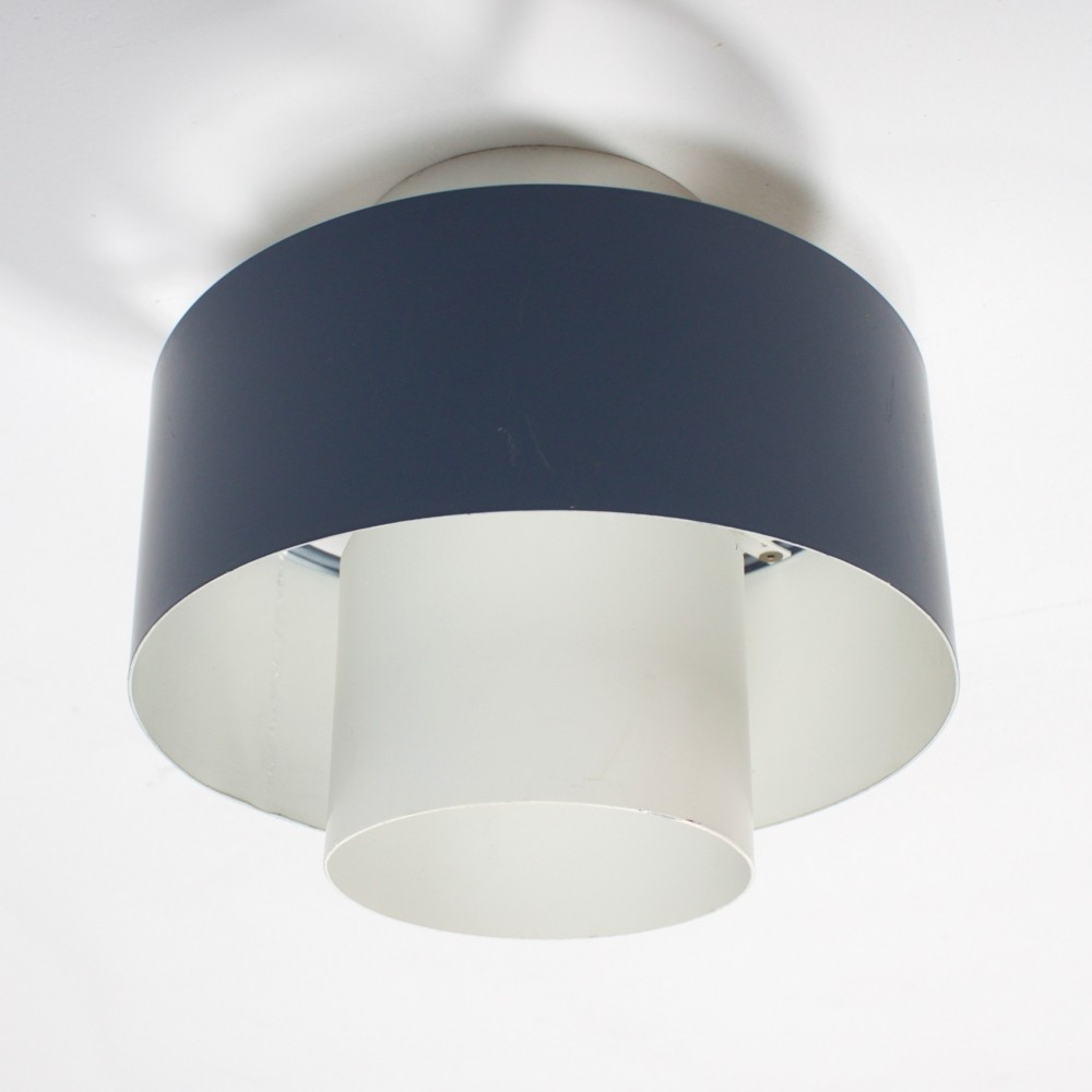 3 x ceiling lamp by Louis Kalff for Philips, 1960s
