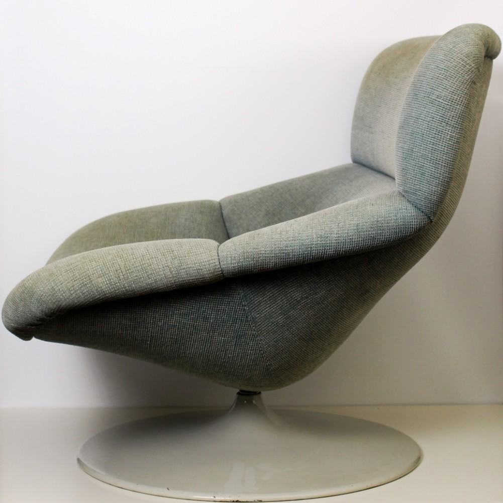 F518 lounge chair by Geoffrey Harcourt for Artifort, 1980s