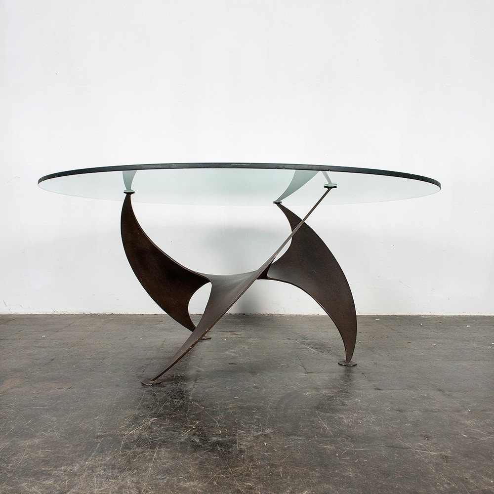 Propeller coffee table, 1970s