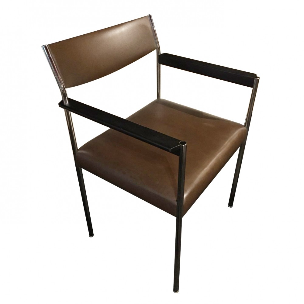 6 x millione dinner chair by edlef bandixen for kusch co. Black Bedroom Furniture Sets. Home Design Ideas