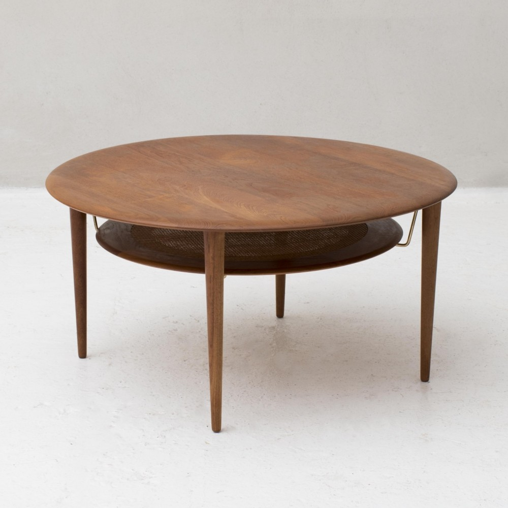 Teak coffee table by Peter Hvidt & Orla Molgaard Nielsen
