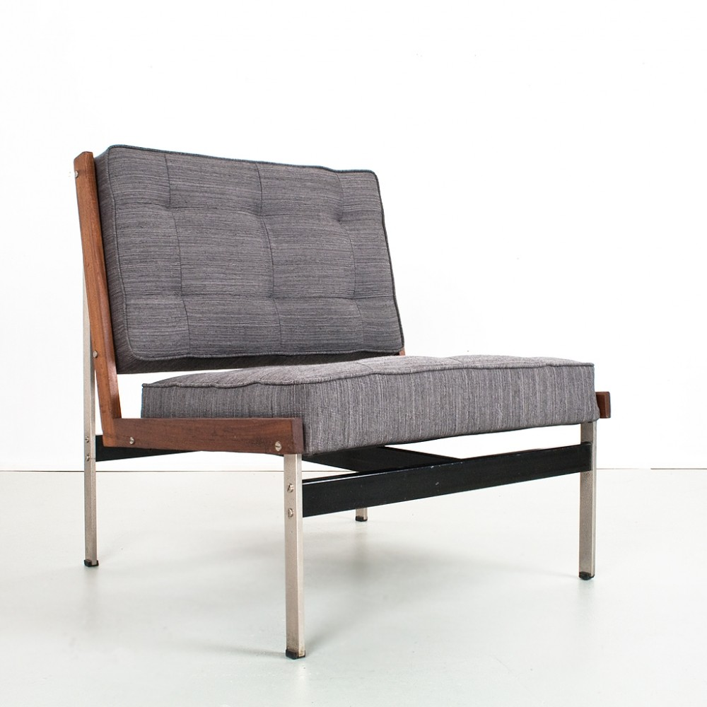 Model 200 lounge chair by Kho Liang Ie for Artifort, 1950s