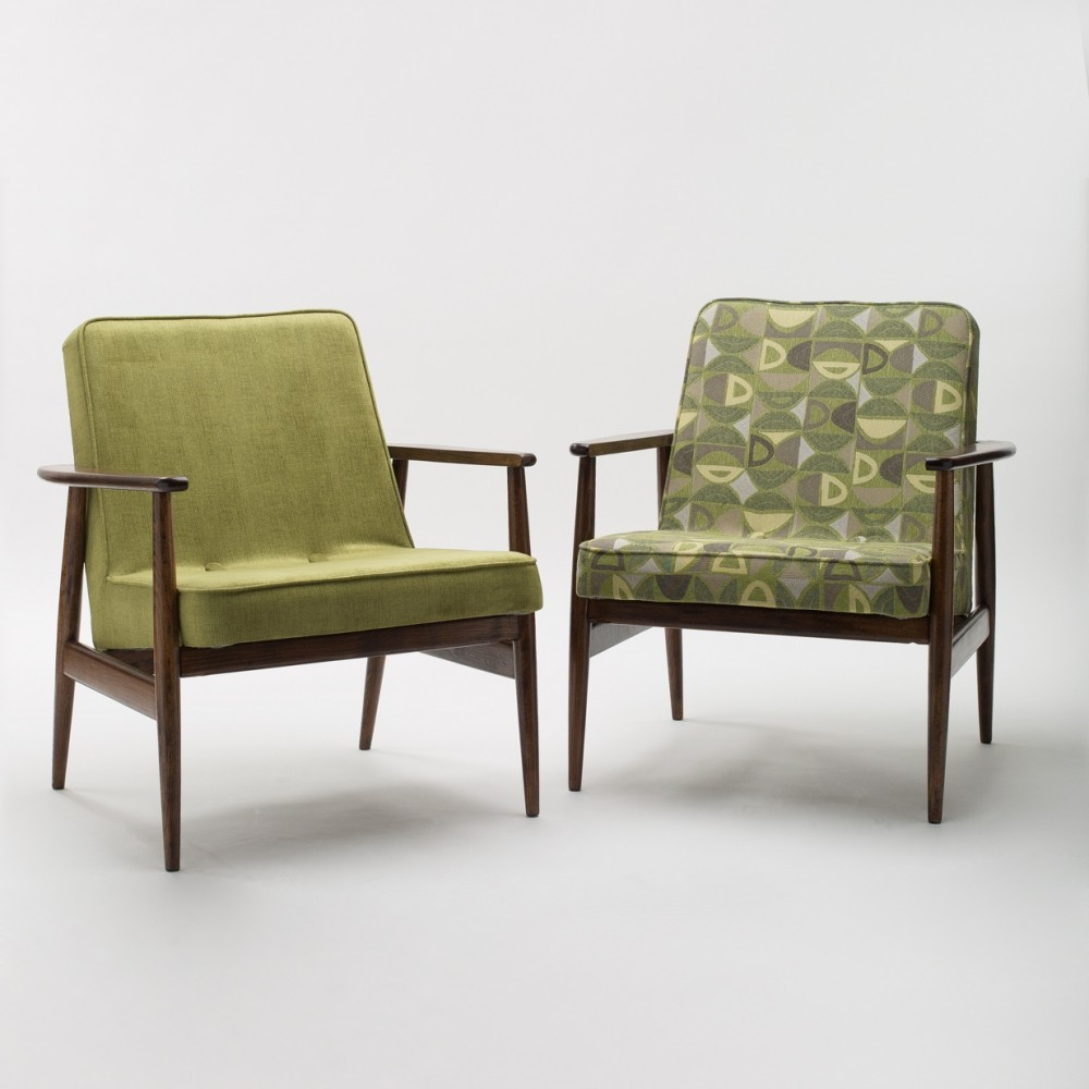 Pair of GFM Type 300-192 Armchairs by Juliusz Kędziorek for Gościcino Furniture Factory