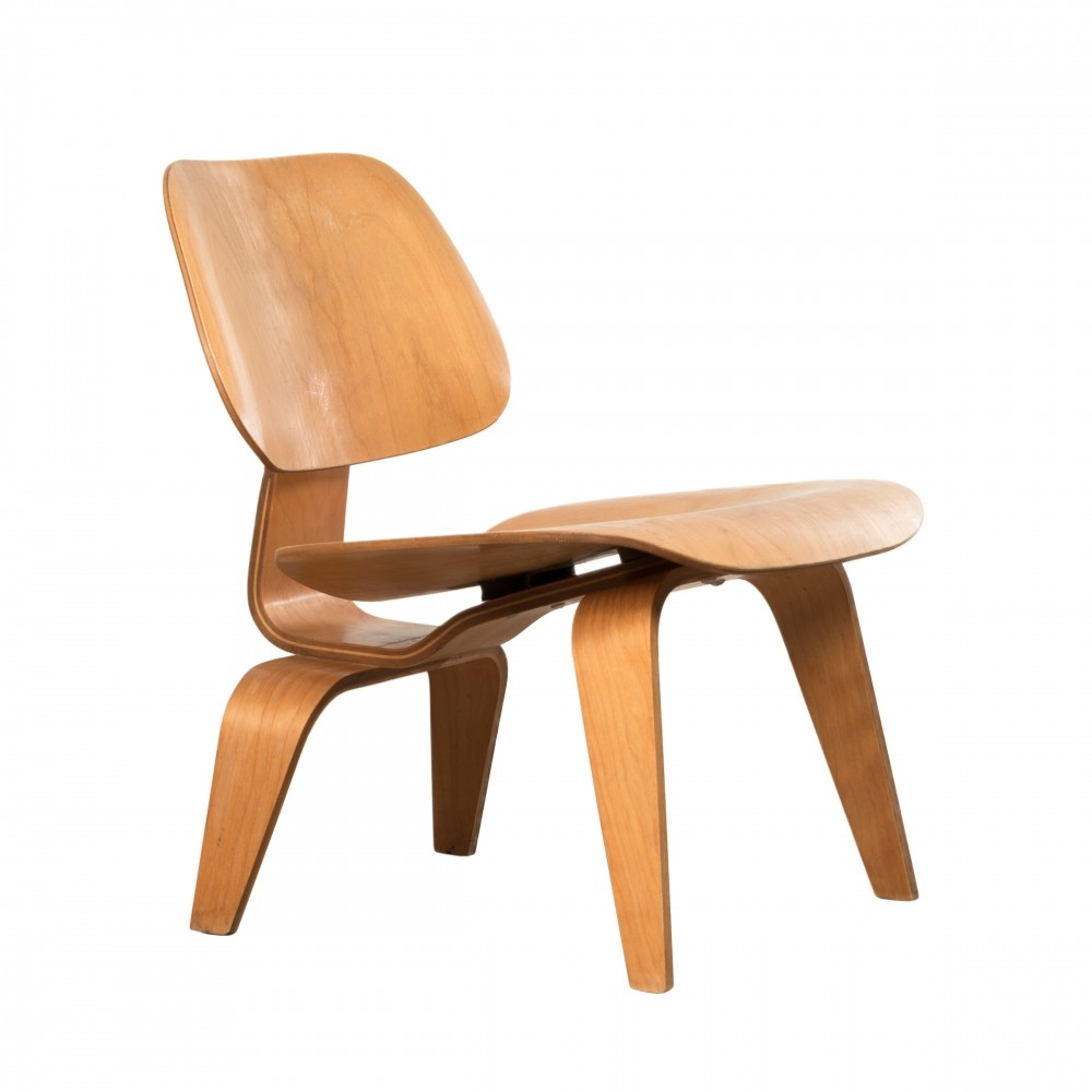 Lcw maple lounge chair by charles ray eames for herman for Charles eames lounge chair preisvergleich