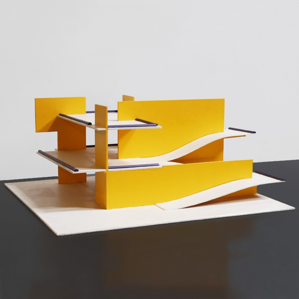 Decorative 1970s architectural model/maquette
