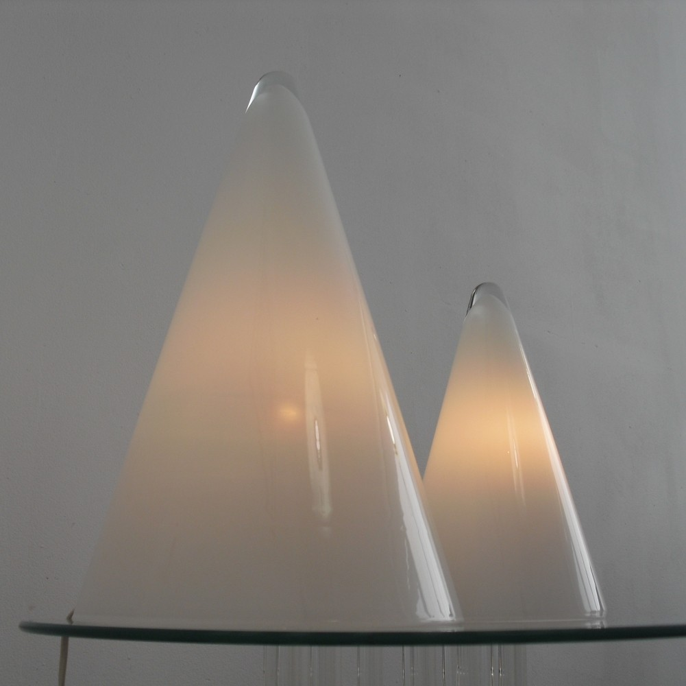 Pair of Teepee desk lamps by SCE France, 1970s