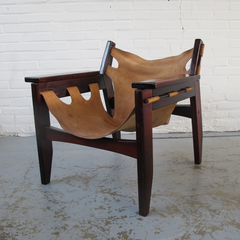 Kilin lounge chair by Sergio Rodrigues for OCA, 1970s