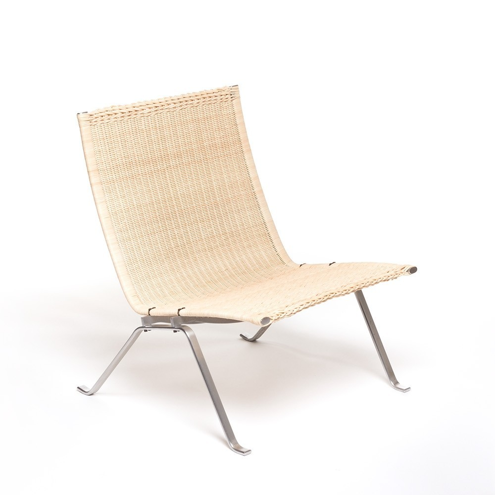PK22 lounge chair by Poul Kjærholm for E. Kold Christensen 1950s  sc 1 st  VNTG & PK22 lounge chair by Poul Kjærholm for E. Kold Christensen 1950s ...