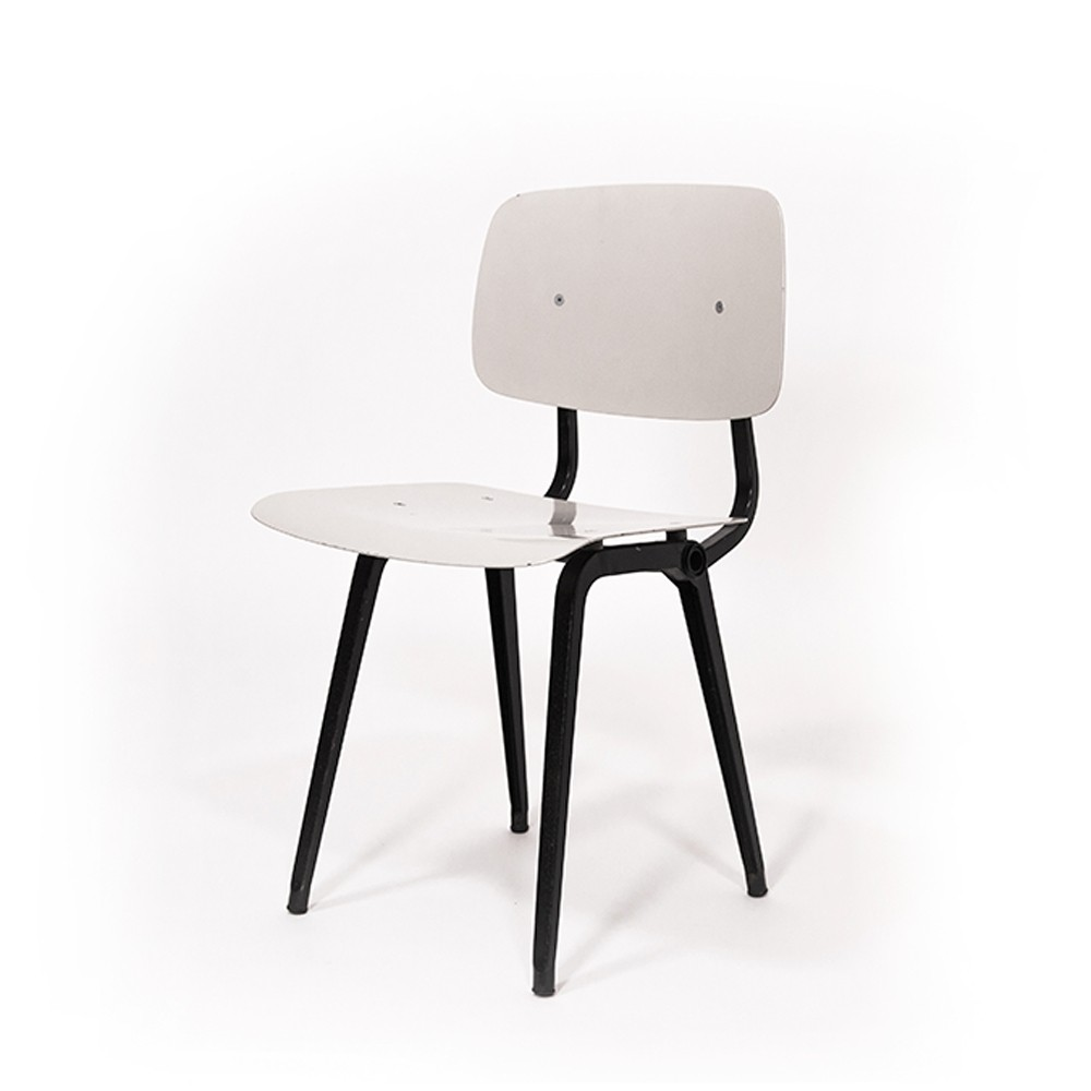 Light Grey Revolt Chair By Friso Kramer For Ahrend De Cirkel