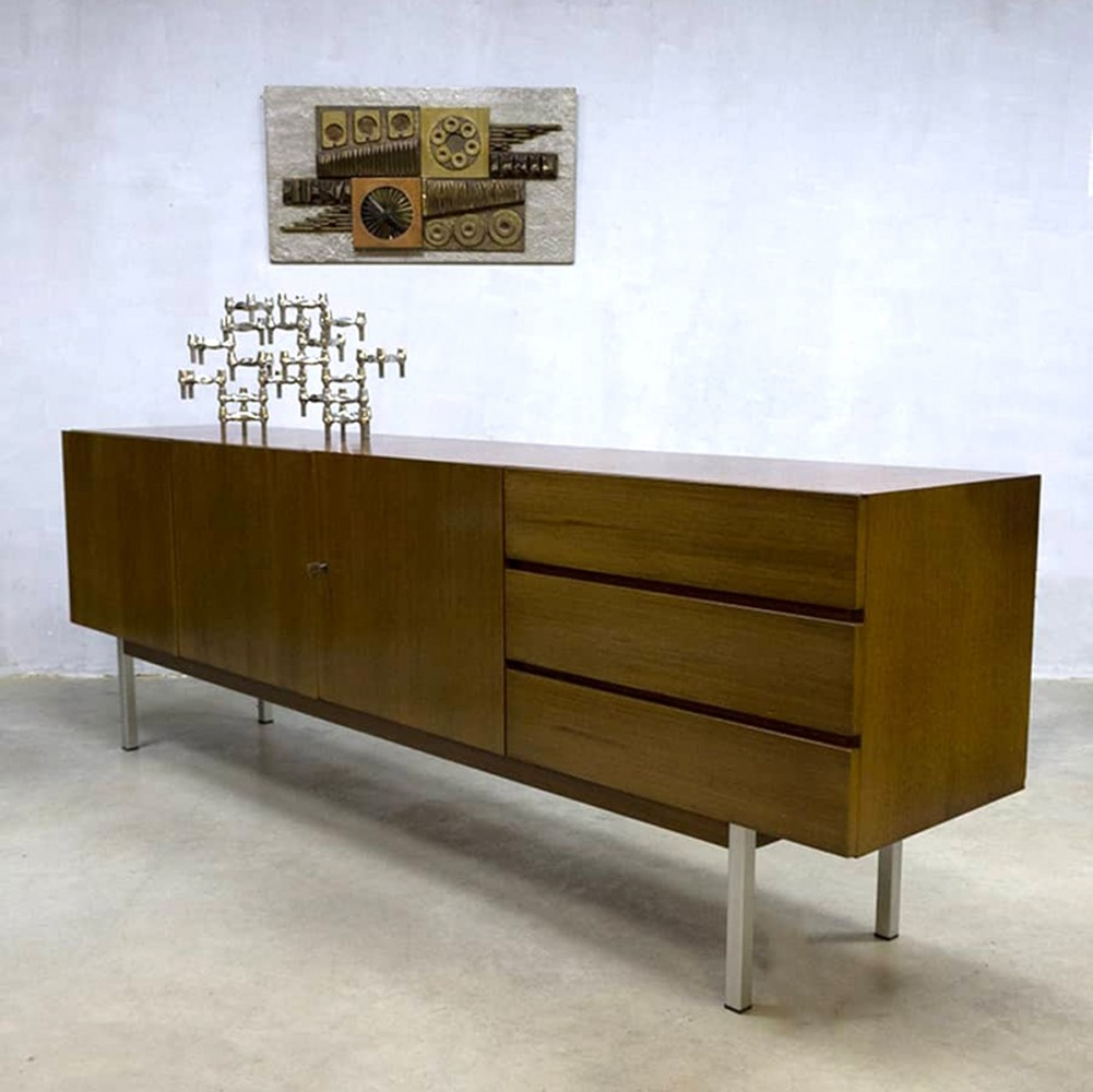 musterring sideboard 1960s 78131. Black Bedroom Furniture Sets. Home Design Ideas