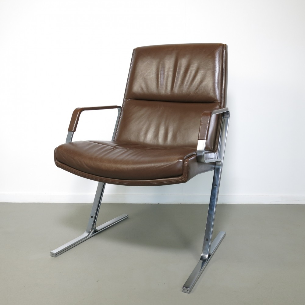FK 711 arm chair by Preben Fabricius & Jørgen Kastholm for Walter Knoll, 1960s