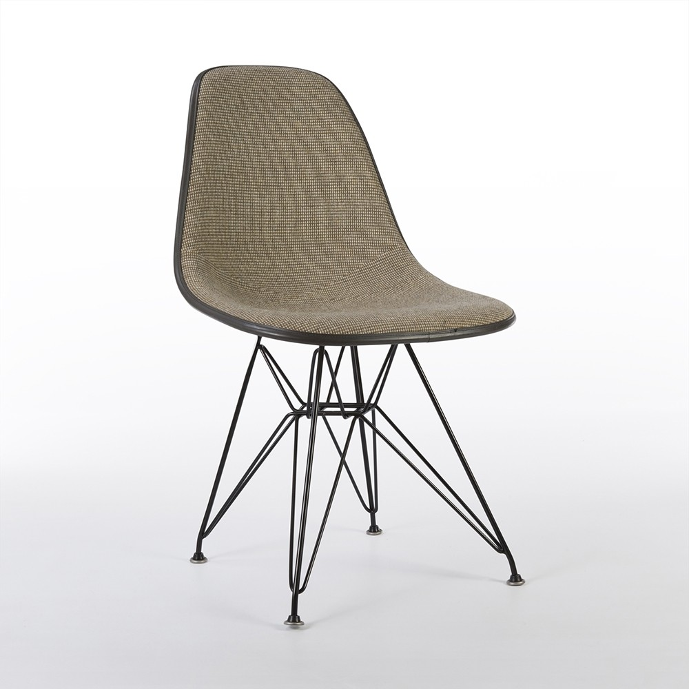 Eames Side Chair original herman miller fabric eames dsr dining side chair 78440
