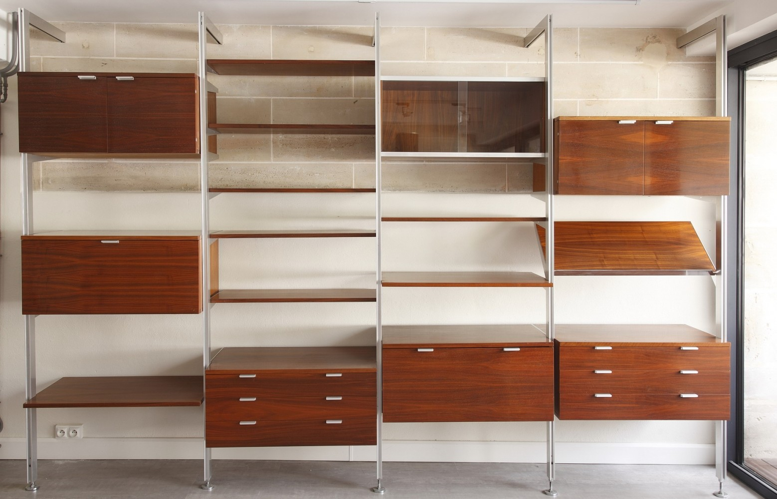 George Nelson CSS Wall Unit by Herman Miller for Mobilier International