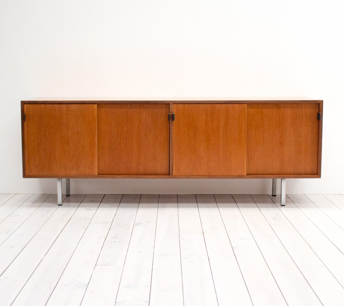 1950s Teak Sideboard by Florence Knoll for Knoll International