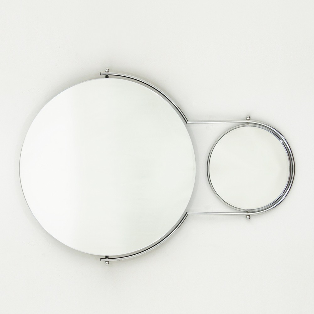 Due Mirror by Rodney Kinsman for Bieffeplast, 1980