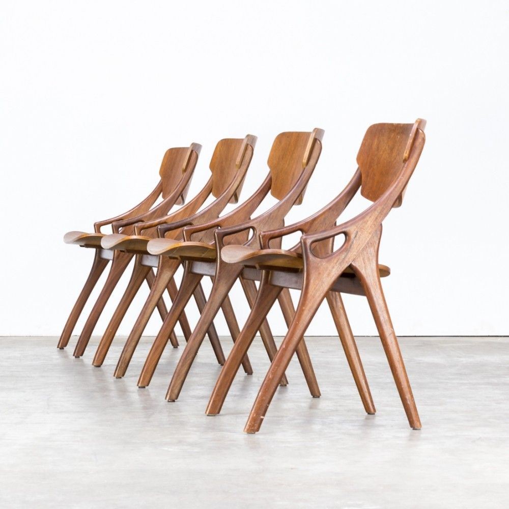 Arne Hovmand Olsen dining chair for Mogens Kold, 1950s
