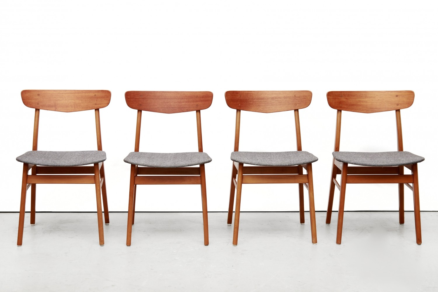 Set of 4 Farstrup dinner chairs, 1960s