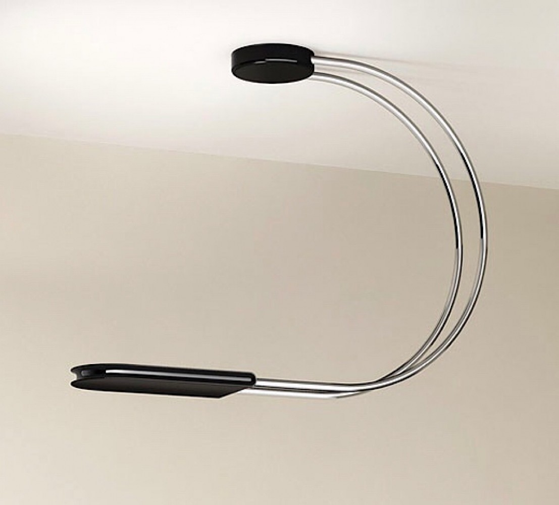 Gesto ceiling lamp by Bruno Gecchelin for Skipper, 1970s